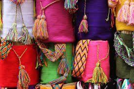 Bolsos colombianos artesanales