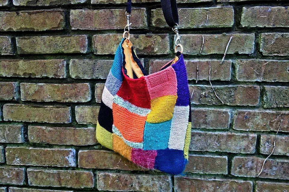 Bolsos de patchwork hechos a mano